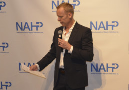 Trevor Hansen Introduced an Exclusive Presentation of Nielsen's Latest Report at the NAHP Annual Convention