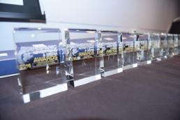 A row of 2016 Hispanic Advertising and Media Awards