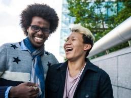 LGBT interracial